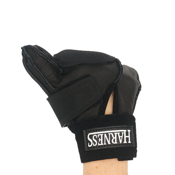 Harness 2 Fingered Racing GLove Closed Back