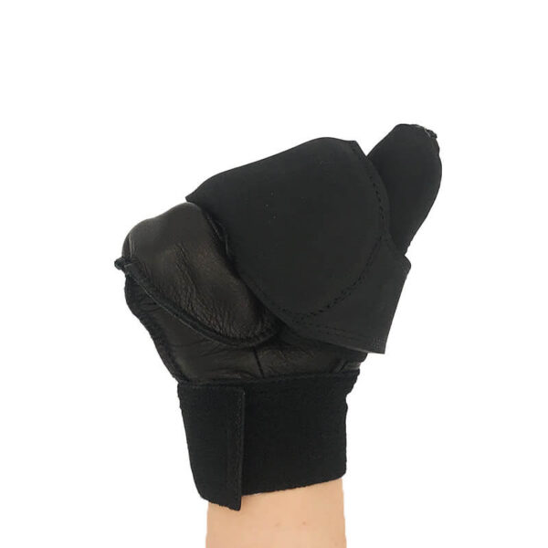 Harness 2 Fingered Racing Glove Closed Front