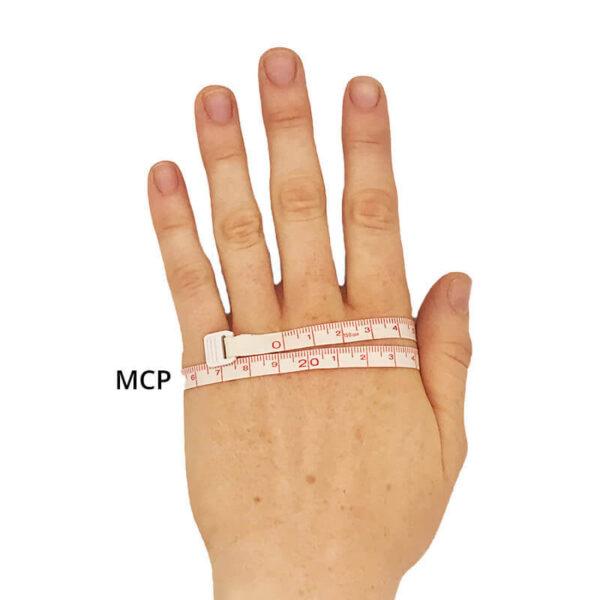 Mesure du gant Flex mcp