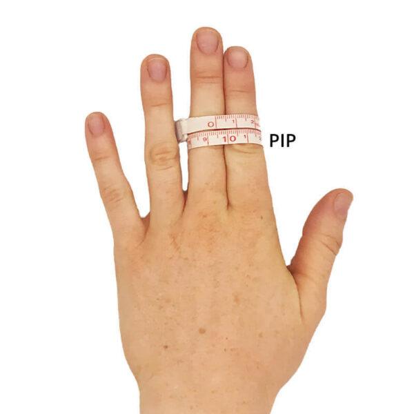 Mesure du gant Flex pip