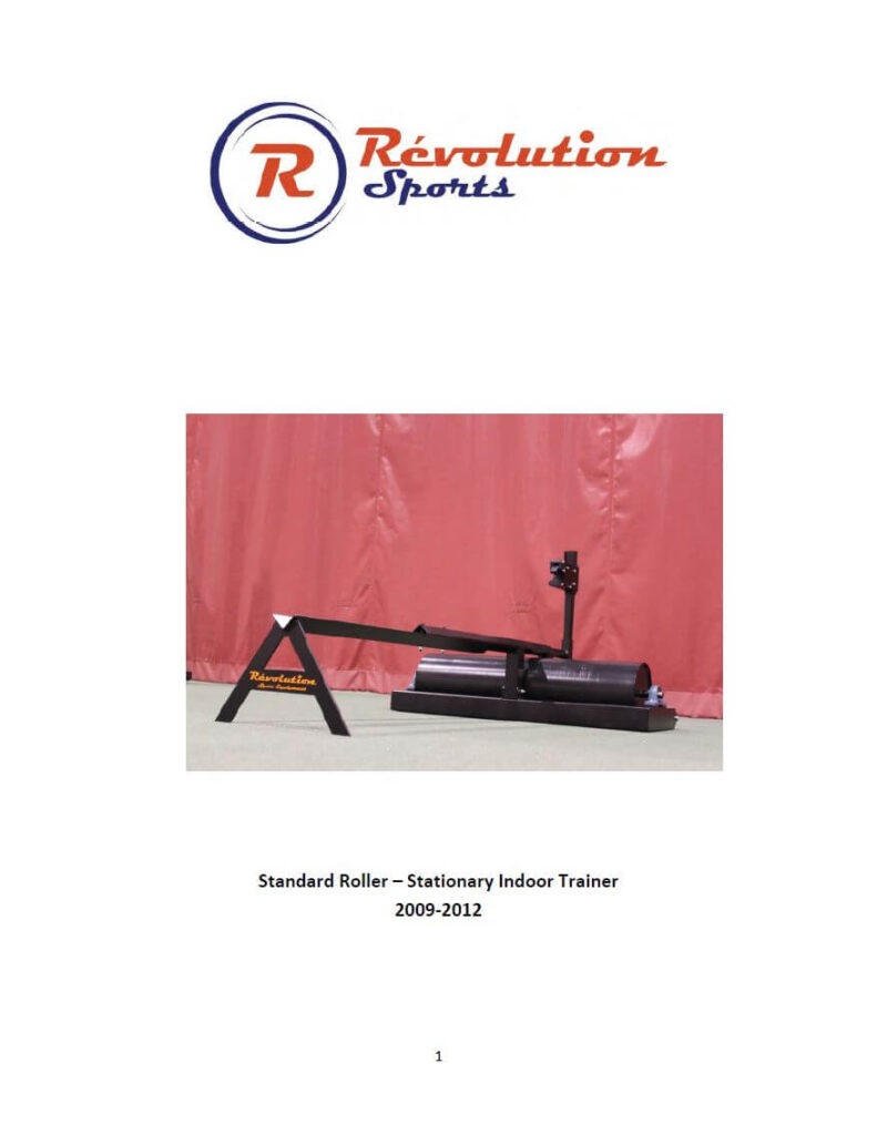 standard roller manual