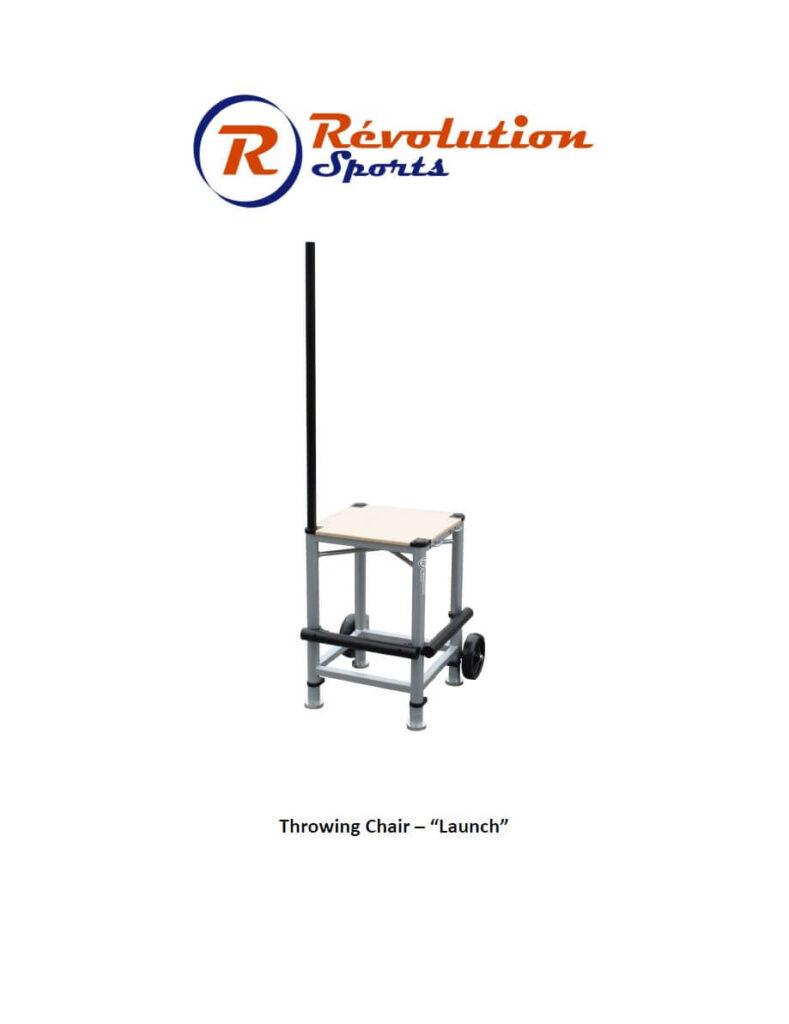 Guide chaise de lancers