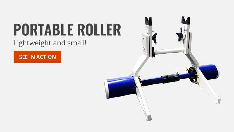 Portable roller